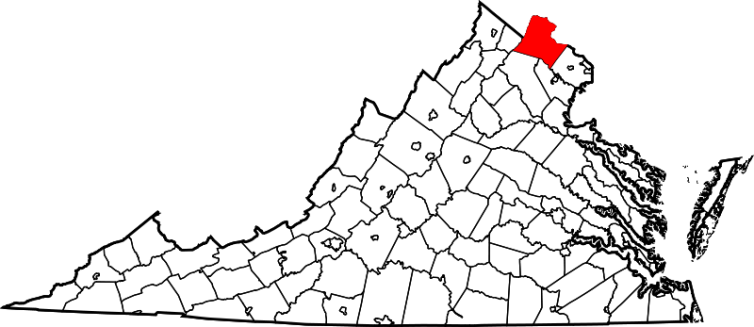 location_of_loudoun_county_virginia