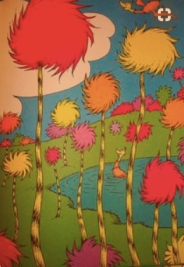 Dr. Seuss' Truffula Trees